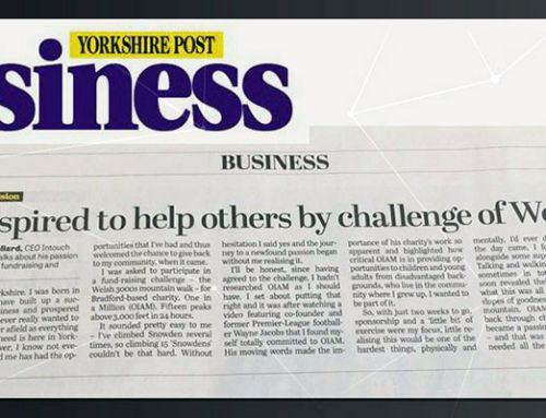 CEO Simon Pollard – My Passion: Giving Back To Yorkshire