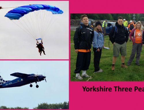 We Sky-Dive To Pass £8k Sponsorship For OIAM