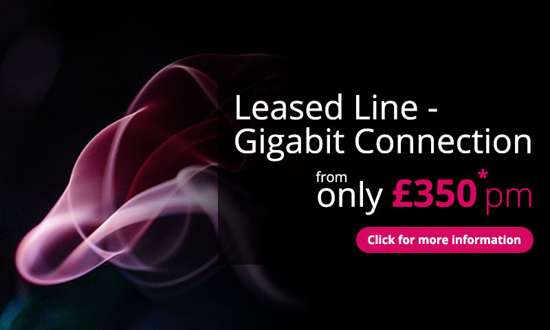 Get a Gigabit Leased Line Connection for £350 Per Month With Intouch Advance